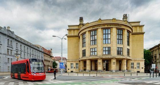 Comenius Universtität Bratislava Pressburg