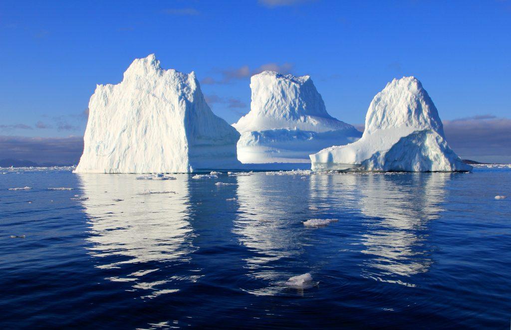Redewendung Sptize des Eisbergs