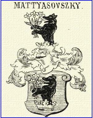 Das Wappen der Familie Mattyasovszky