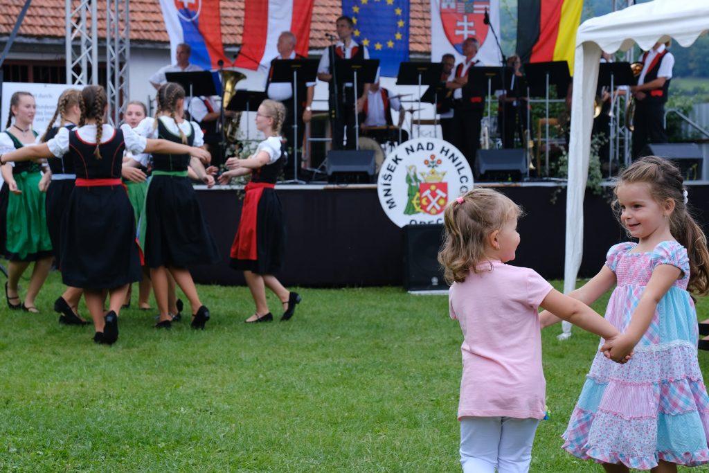 Blaskapellenschau 2019 in Einsiedel an der Göllnitz Mnisek nad Hnilcom