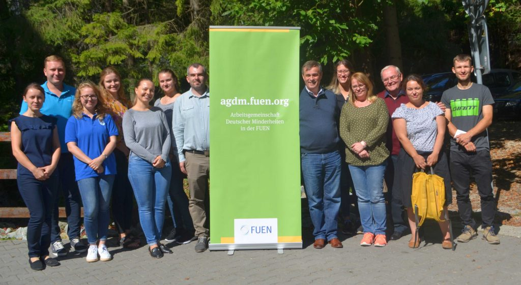 Jugendsitzung der AGDM in Ruzomberok Rosenberg