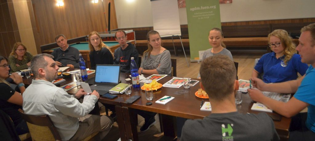 Jugendsitzung der AGDM