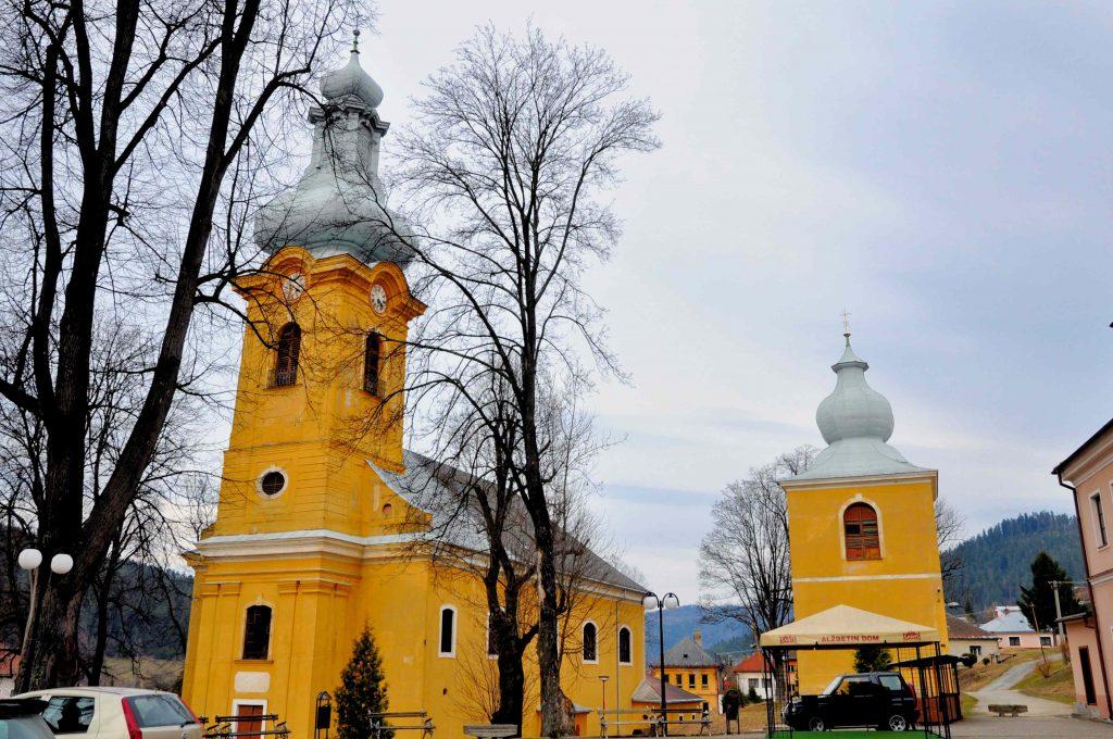 Pfarrkirche St. Katharina Schmöllnitz Smolnica