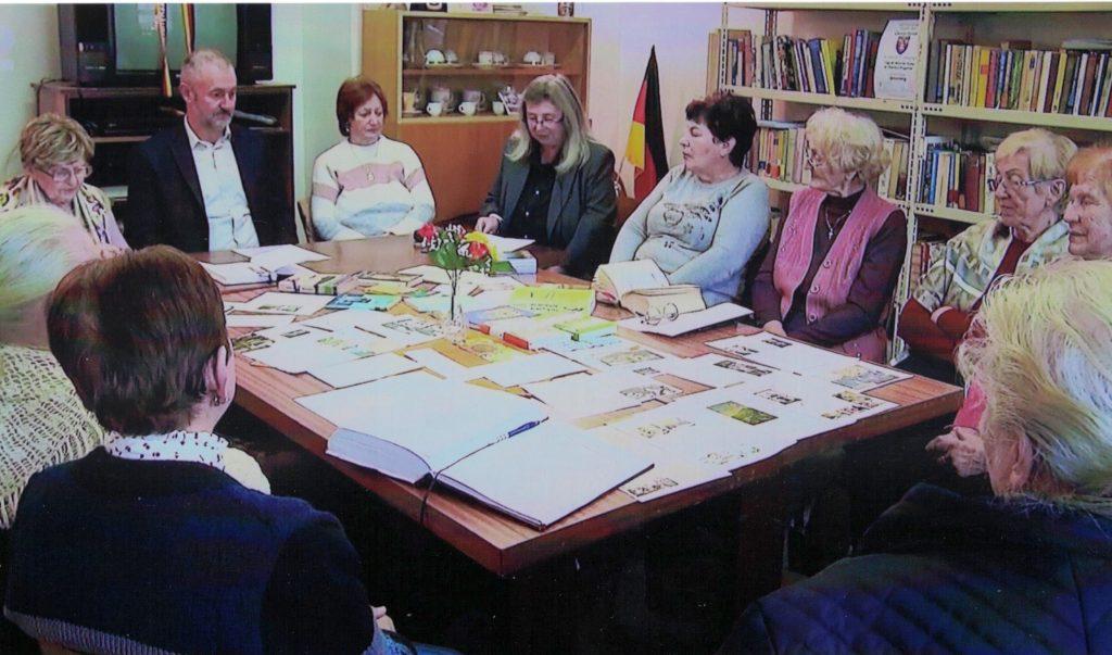 Literaturkränzchen in Einsiedel an der Göllnitz