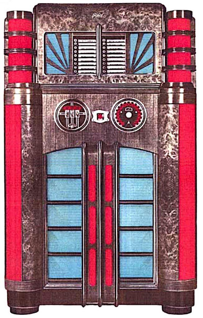 """Die Musikbox """"Starlite"""" (1936, 18 Platten)"""
