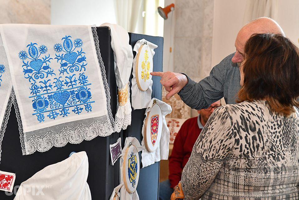 20 Jahre Stickereiwerkstatt Nitrianske Pravno