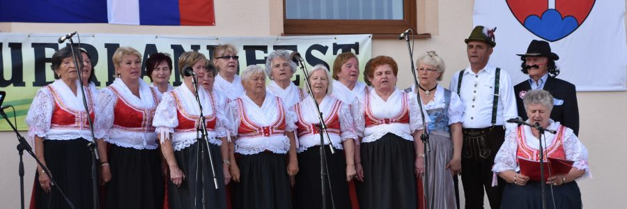 Singgruppe Grünwald aus Handlova Krickerhau