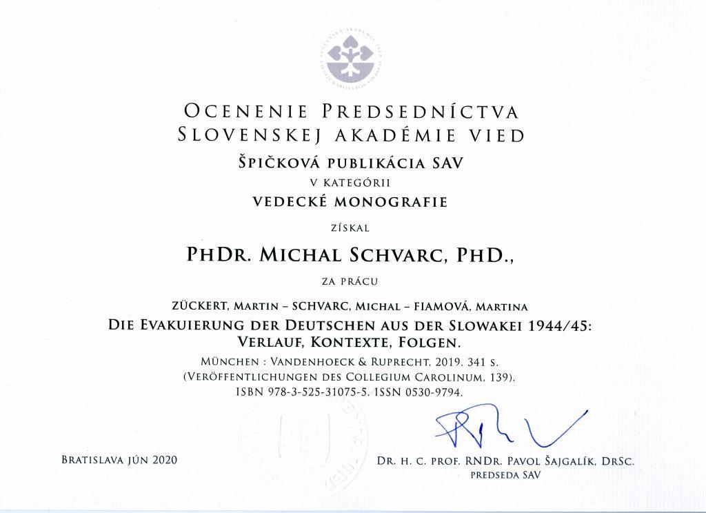 Slowakische Akademie der Wissenschaften