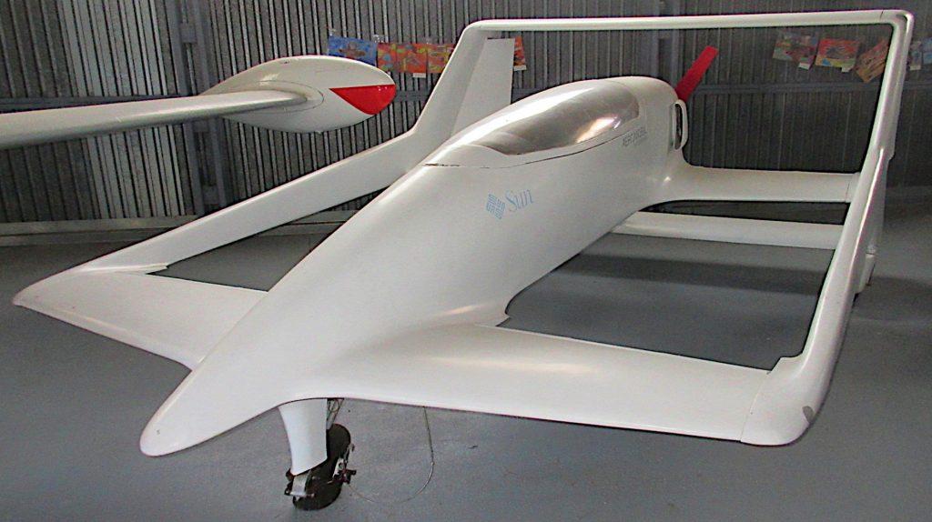 Flugzeugmuseum Kaschau fliegendes Auto