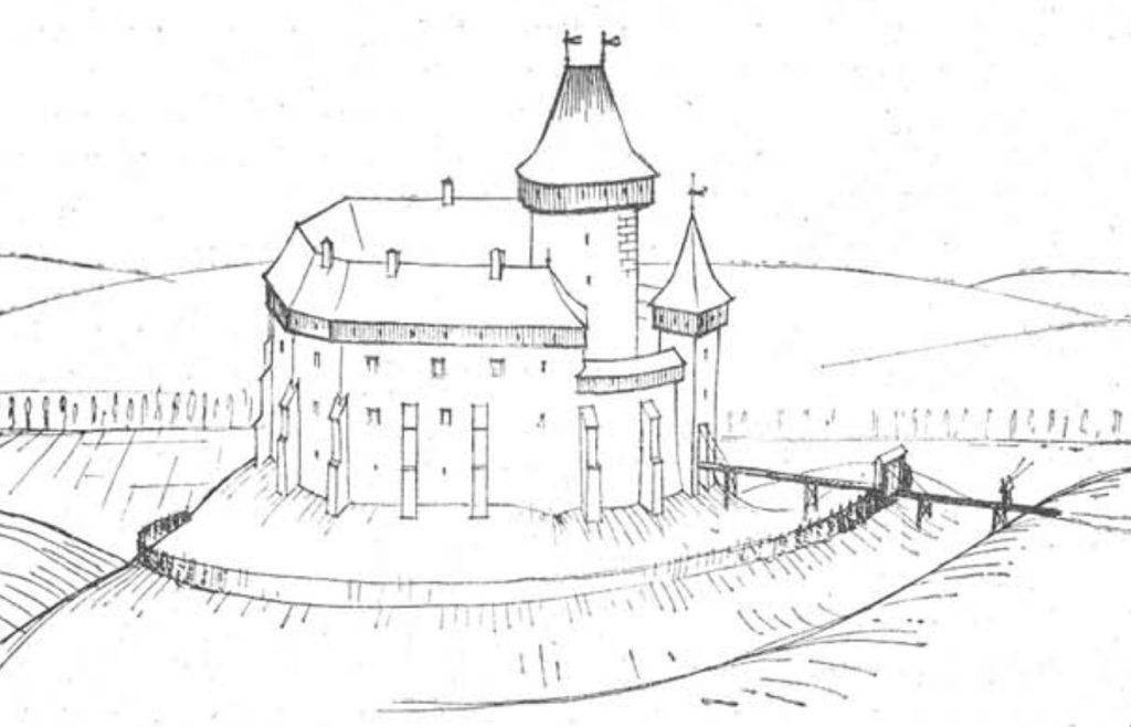 Csaky Burg Feherkö