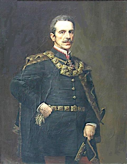 Graf Albin Csáky (1841 - 1912)