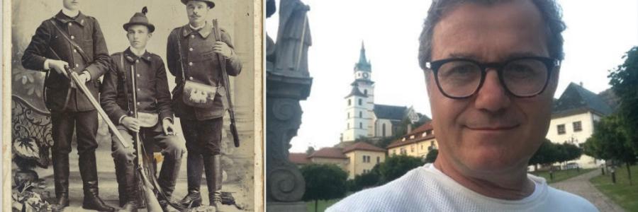 Ivo Štric und sein Urgroßvater
