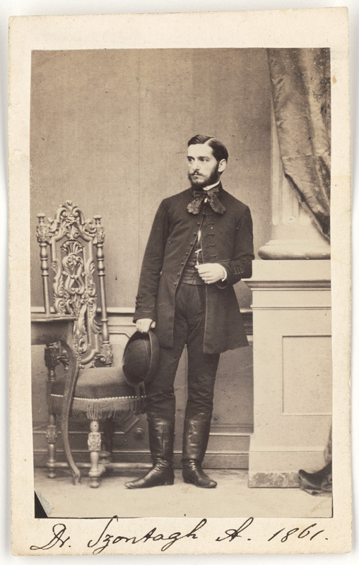 Abraham Szontagh 1861