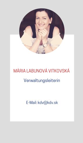 Mária Labunová Vitkovská KDV