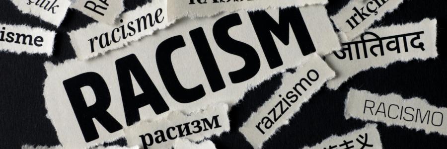 Banner - Rassismus