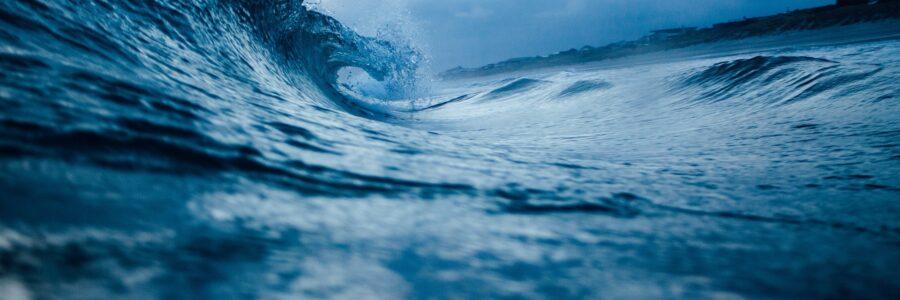 Alle Wasser laufen ins Meer