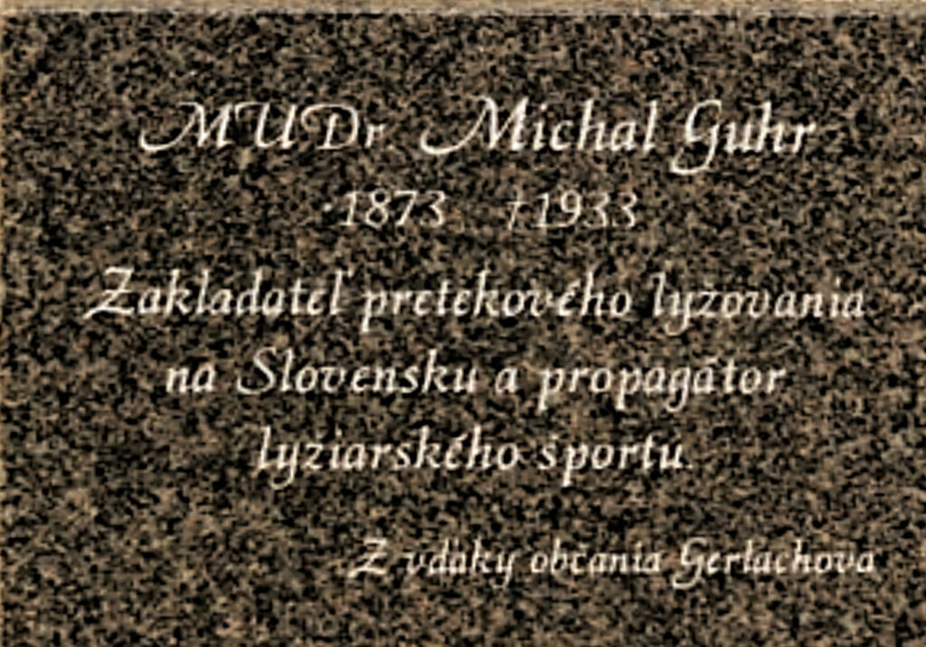 Gedenktafel Doktor Guhr