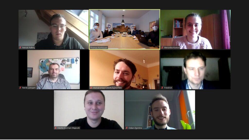 Online Treffen des jungen Netzwerk Zukunft