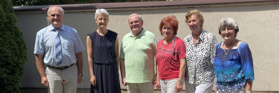 Botschafterin Barbara Wolf beim KDV