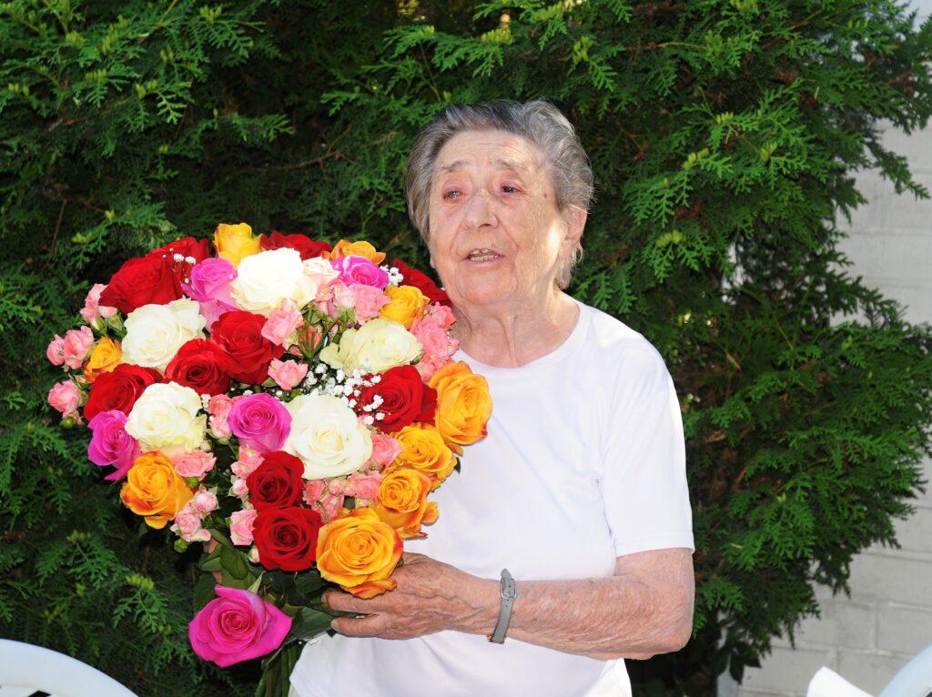 Rosi Stolar-Hoffmann zum 96. Geburtstag