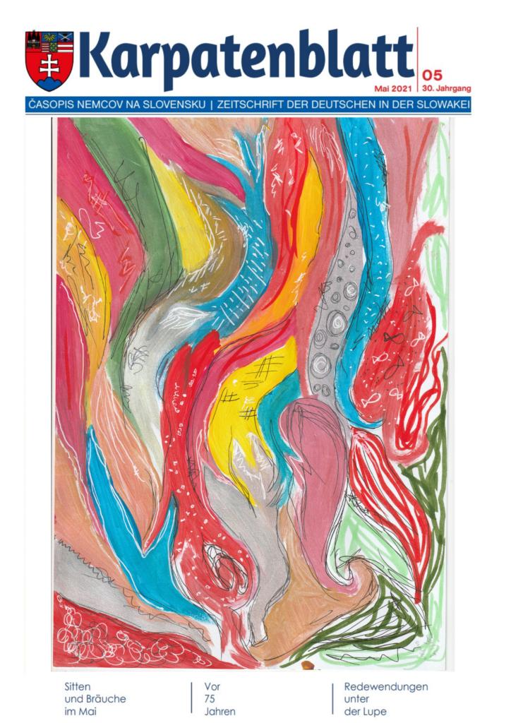 Karpatenblatt Titelseite Entwurf