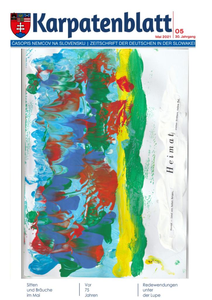 Karpatenblatt Titelseite