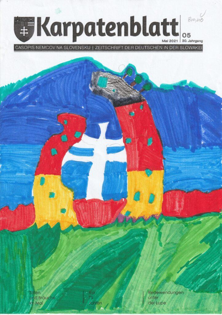 Karpatenblatt Titelseite Entwurf DSB