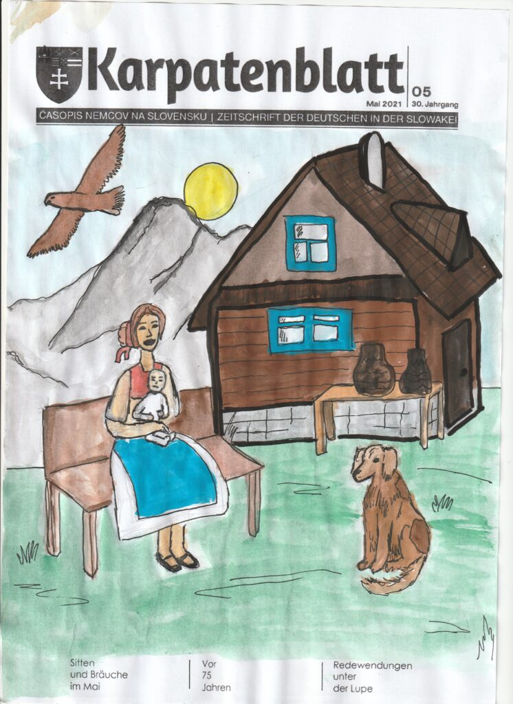 Karpatenblatt Entwurf Titelseite DSB