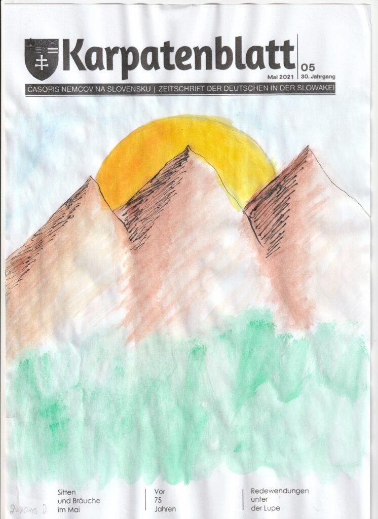 Karpatenblatt Titelseite DSB