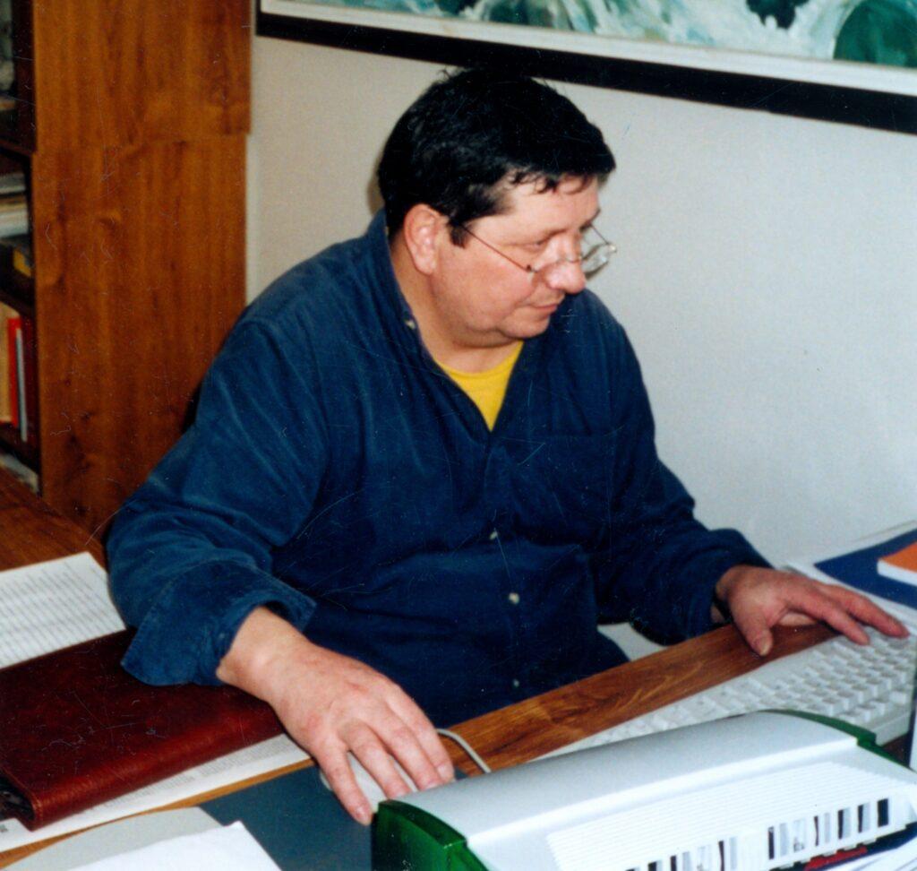 Redakteur des Magazins der deutschen Minderheit in der Slowakei