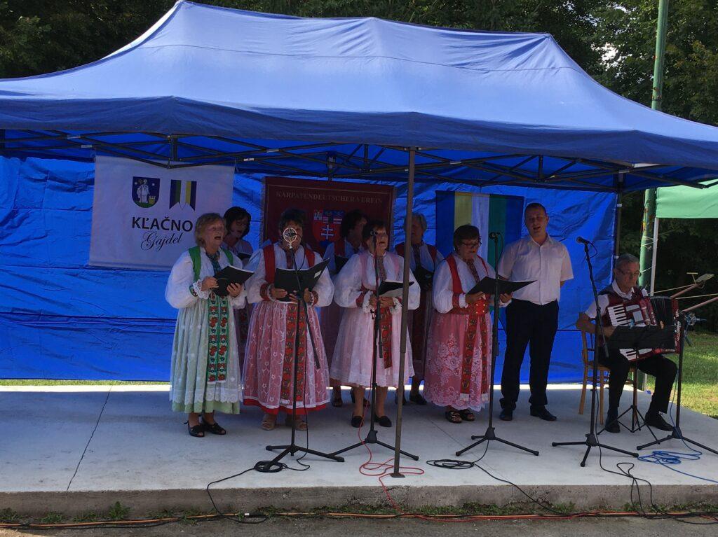 Singgruppe aus Schmiedshau