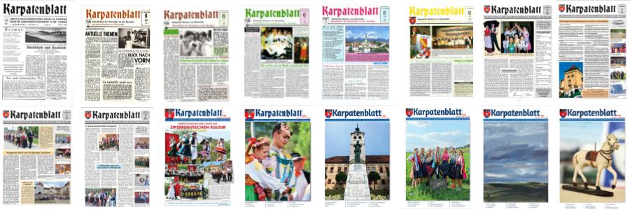 30 Jahre Karpatenblatt