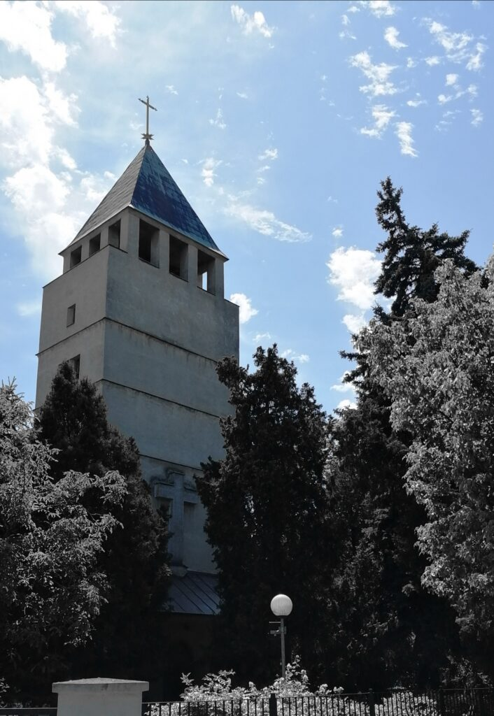 Die evangelische Kirche im Pressburger Stadtteil Oberufer (Prievoz)