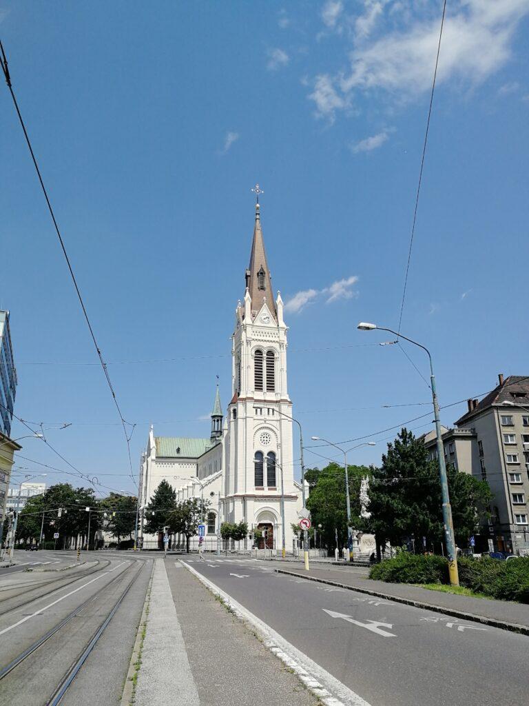 Blumenthaler Kirche in Preßburg