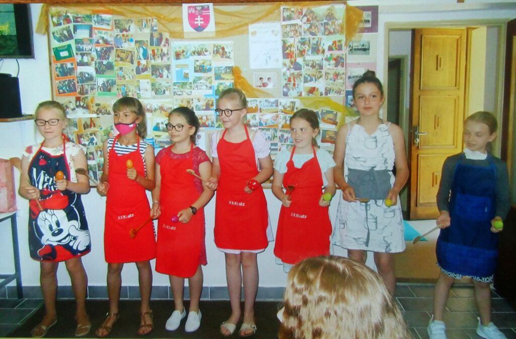 Die Kinder hatten ein schönes Programm vorbereitet