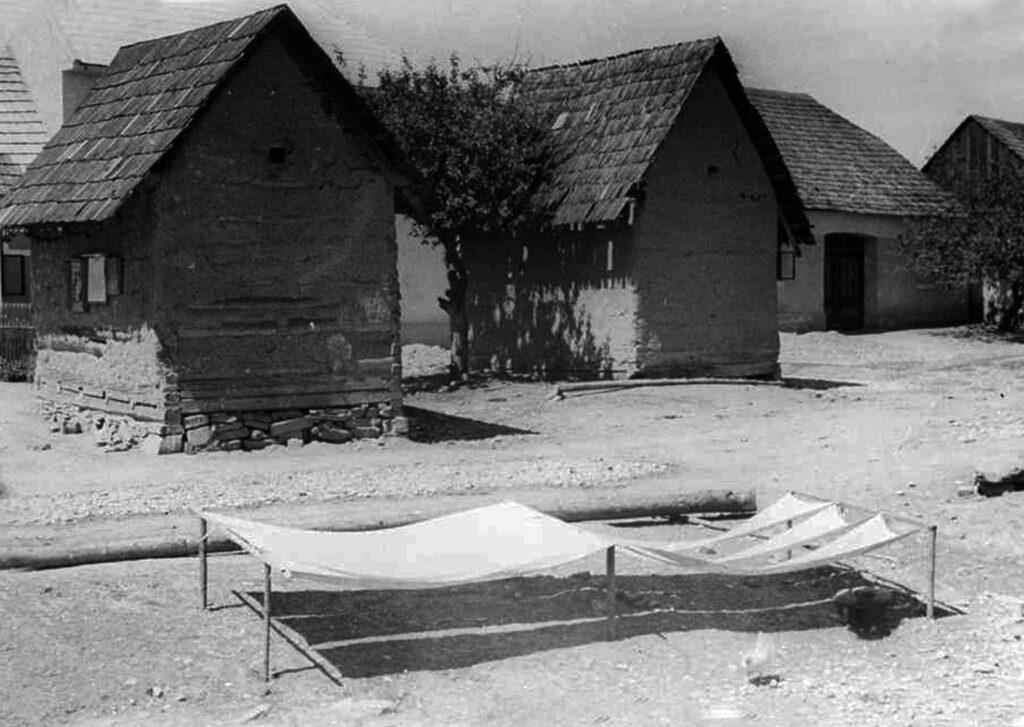 Bauschendorf um 1930...