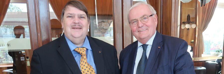 Bernd Posselt und Ondrej Pöss