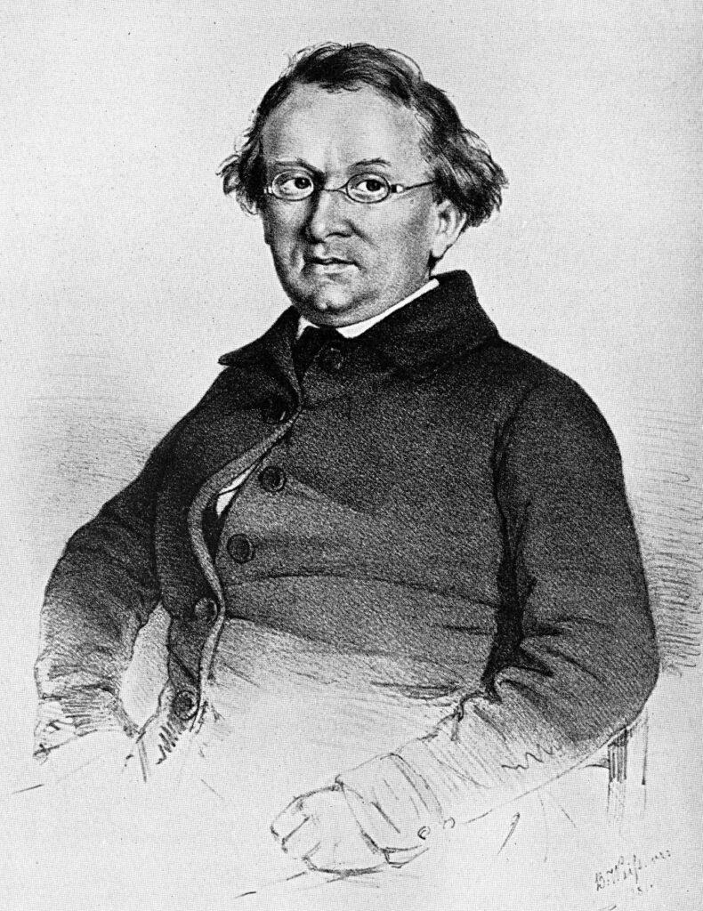Eduard Mörike Portrait