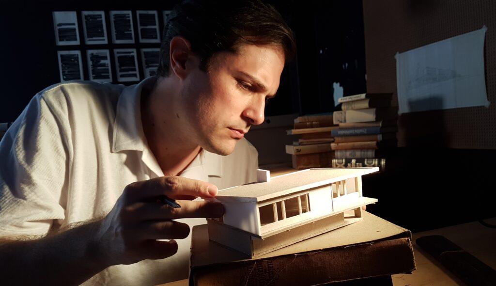 Hans Broos Architekt roher Poetik